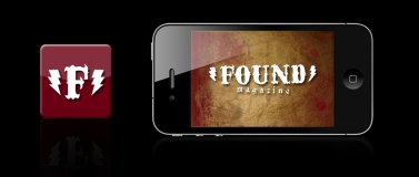 <p>Icon and Splash Screen for Found Magazine Mobile App Concept </p>