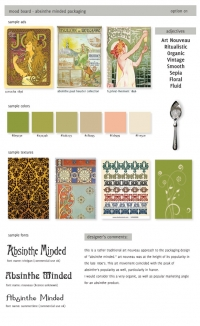 <p>Mood Board for Austin Sugarworks Packaging</p>