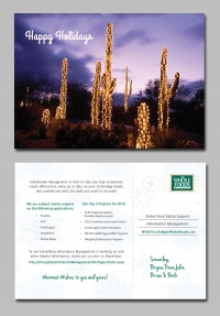 <p>Holiday Postcard Designed for Whole Foods Global Food Safety Support Team and their Communications Campaign</p>