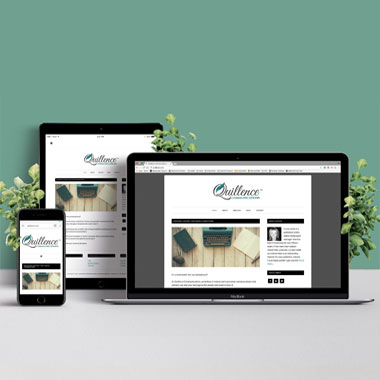Web Design and Development for Quillence Communications