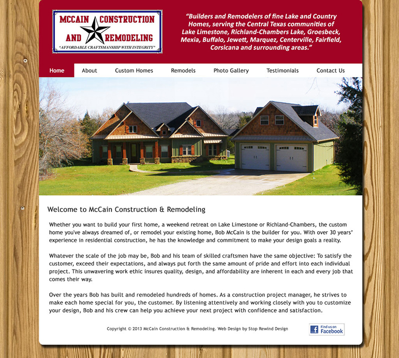 McCain Construction and Remodeling