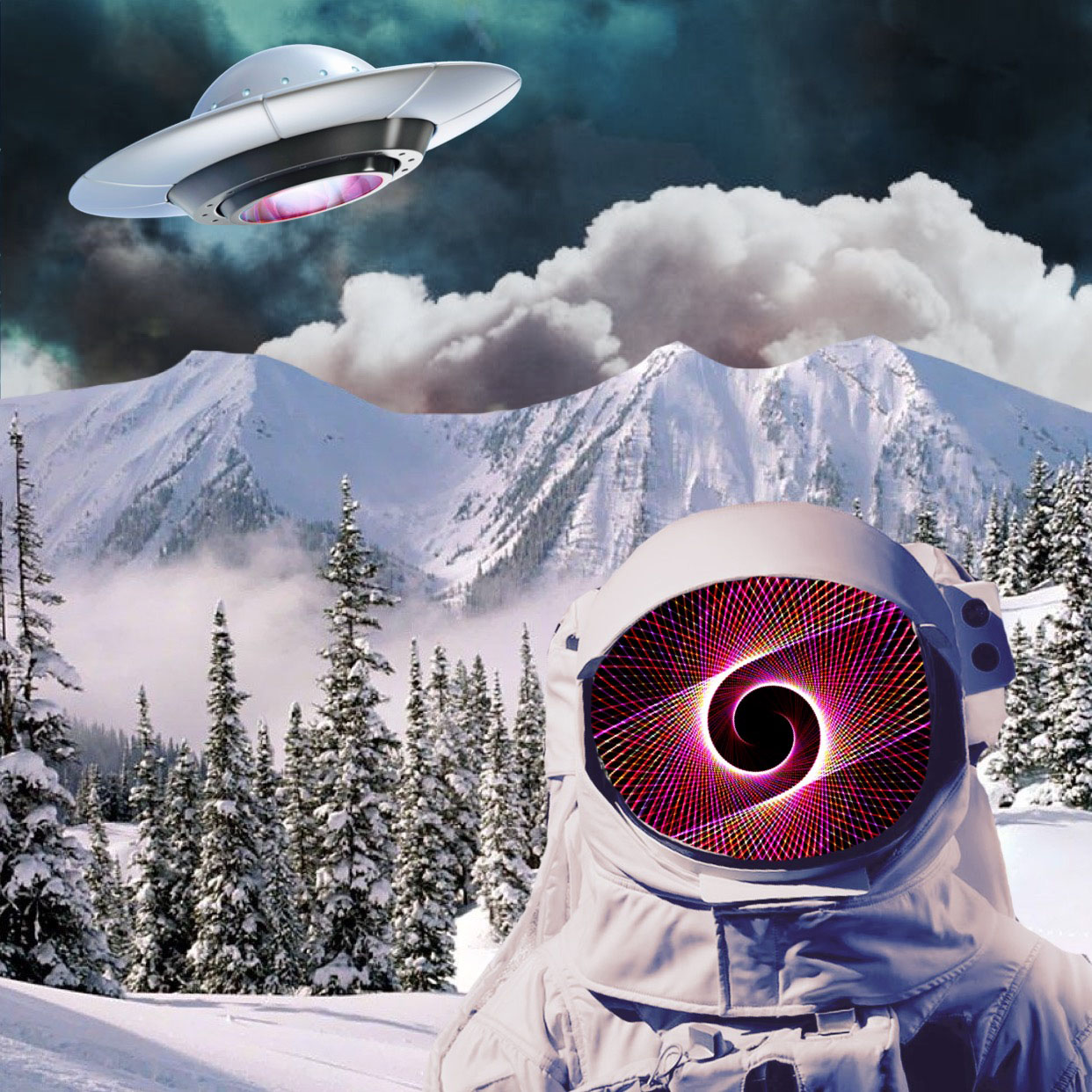 cyclops digital astronaut meets ufo