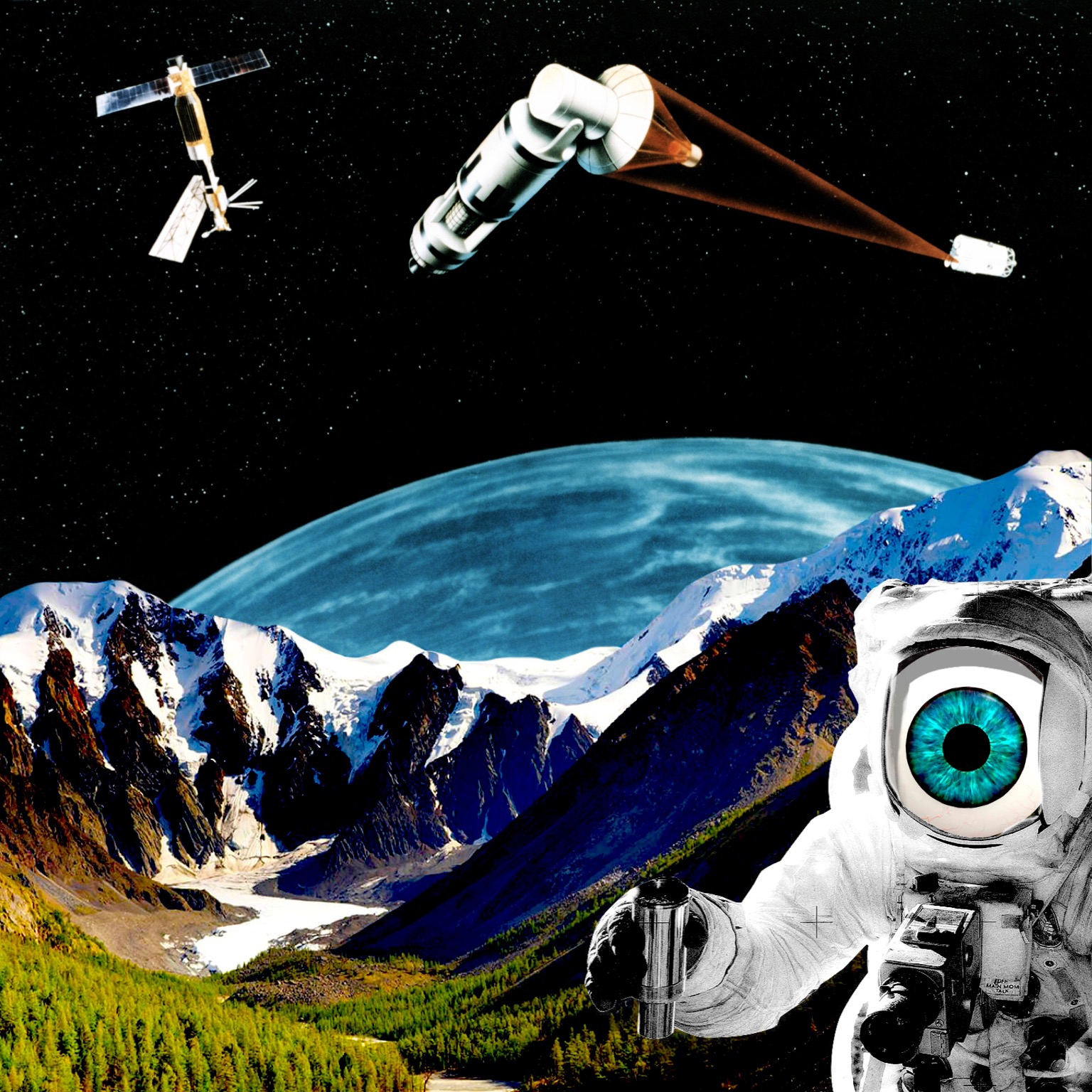 Space Junk by Carrie Becker