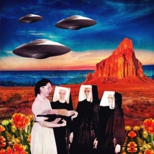 Nuns art piece by Carrie Becker
